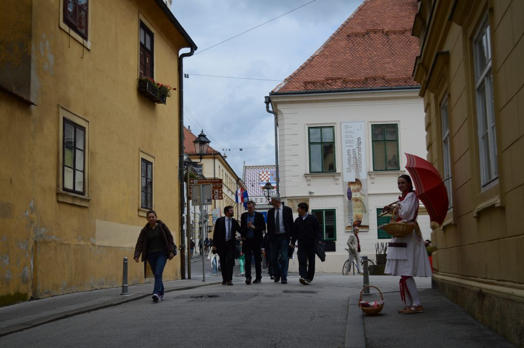 Bovenstad Zagreb