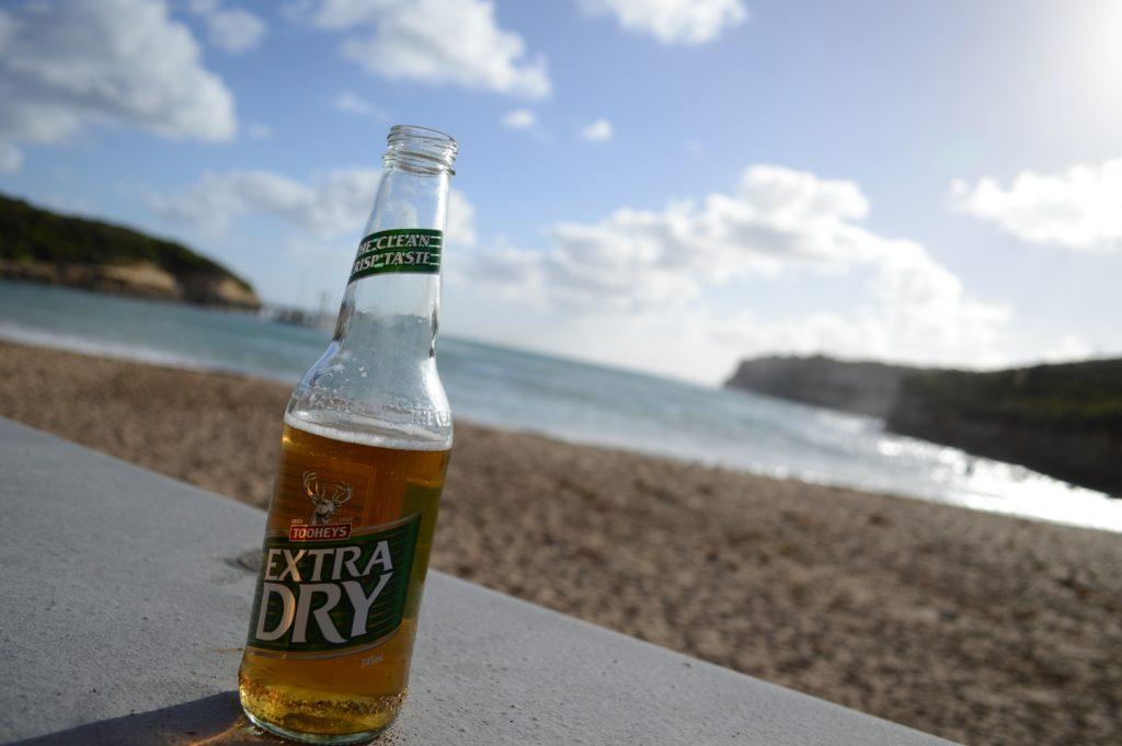 Extra Dry Beer Great Ocean Road