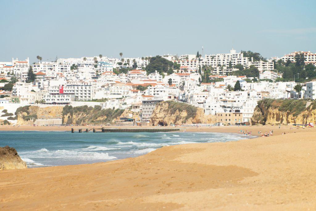 Strand Albufeira Algarve