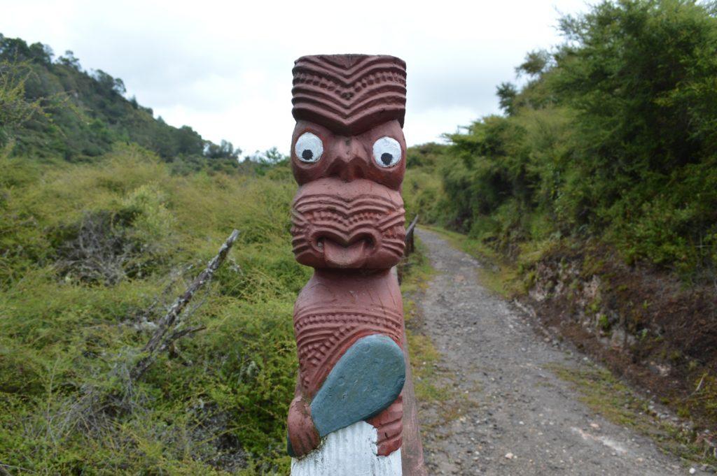 Maori dorp Rotorua