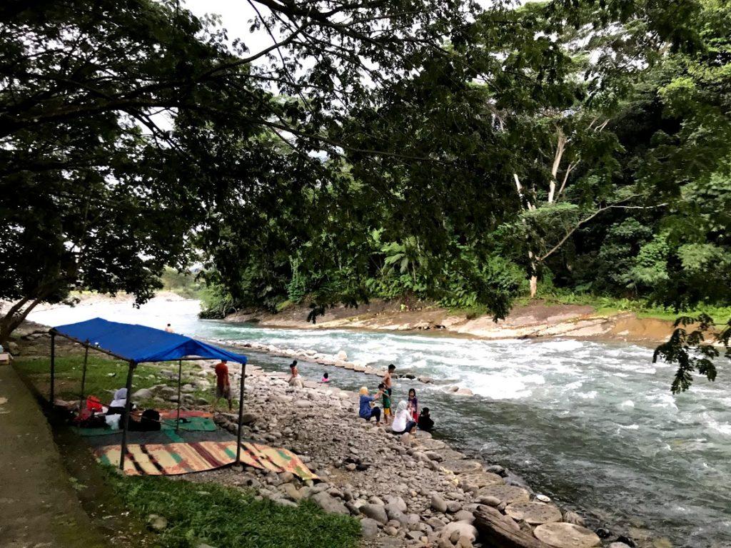 Bukit Lawang rivier