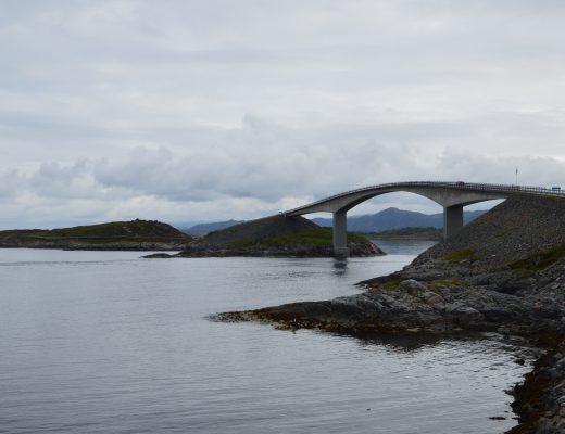 de atlantische weg Noorwegen