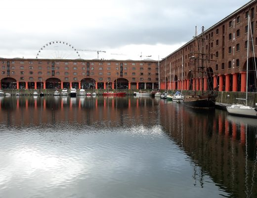 Liverpool Albert Dock uitgelicht