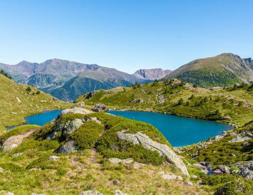 Lagos de Tristaina Andorra