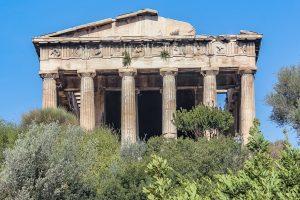 Tempel van Hefaistos Athene