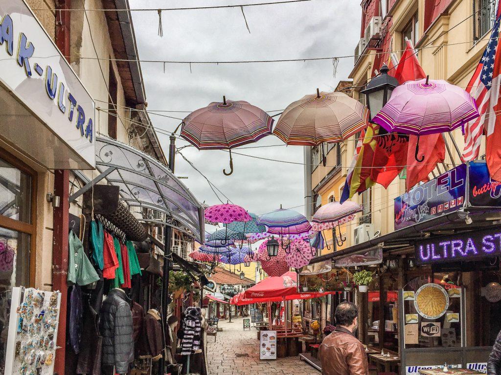 De bazaar van Skopje